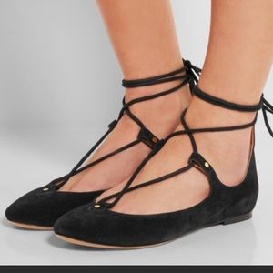 """Chloe """"Foster"""" lace-up flats"""